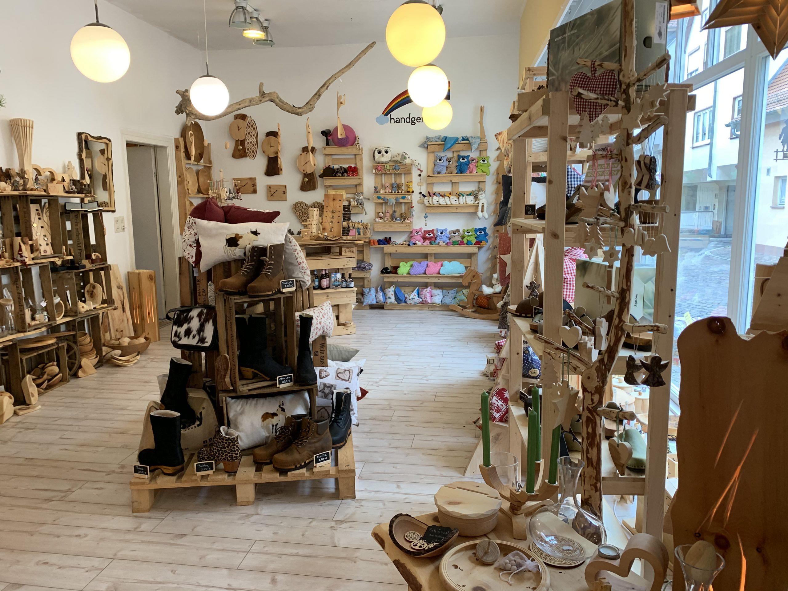 Art of Zirbe Seligenstadt Ladengeschäft