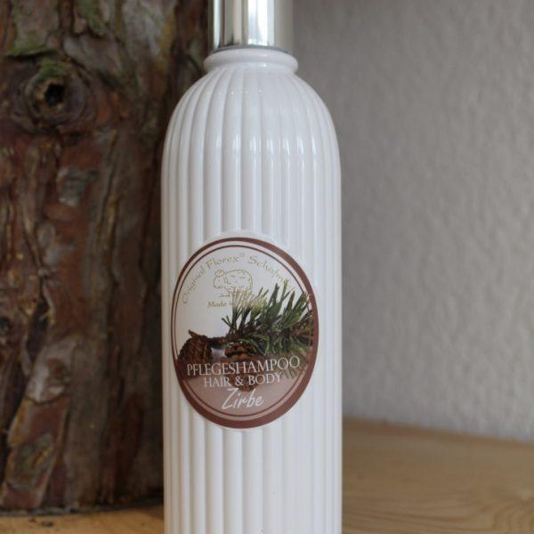 Pflegeshampoo Hair & Body – Zirbe